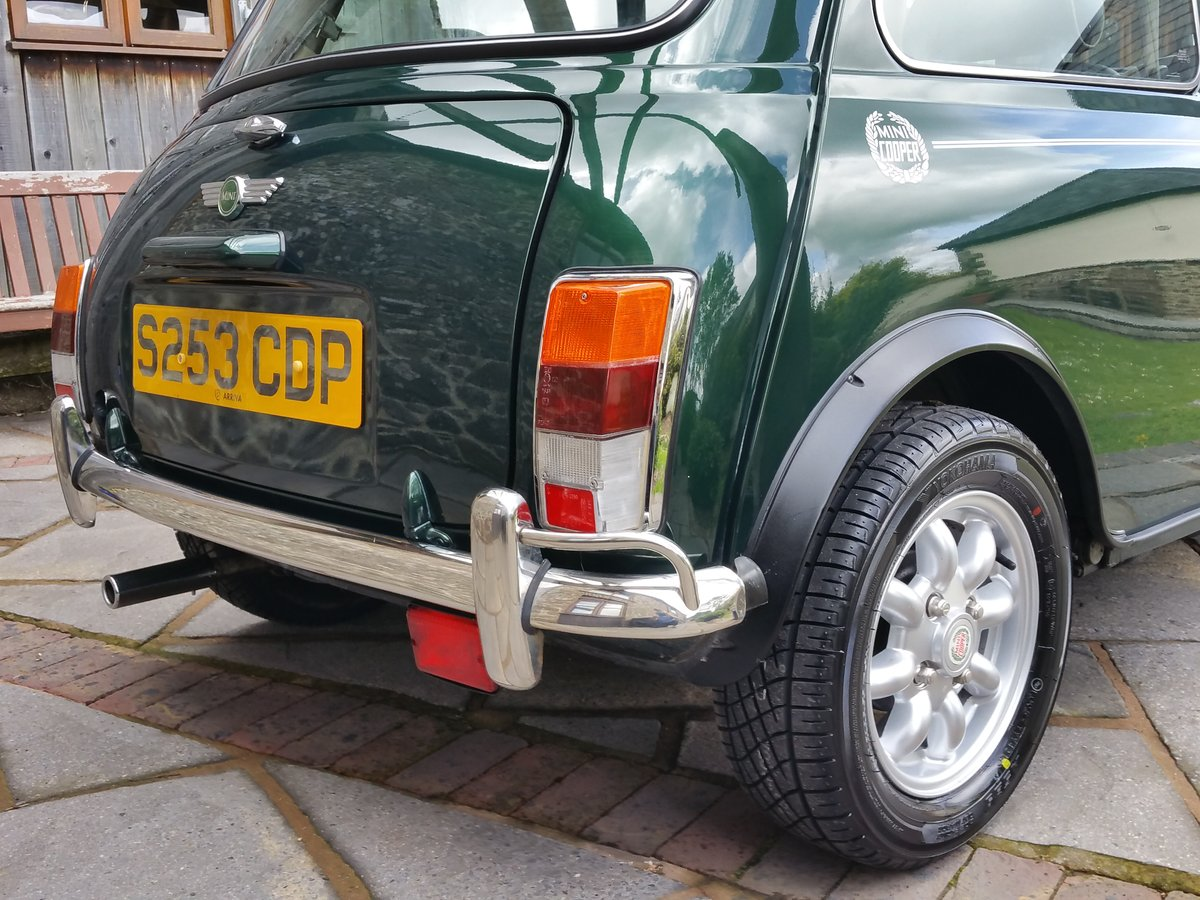 1999 Outstanding Original Mini Cooper On 8950 Miles In 20 Years! For Sale (picture 4 of 6)