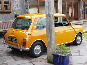 1970 Bronze Yellow MK 3 Cooper S In Lovely Condition.
