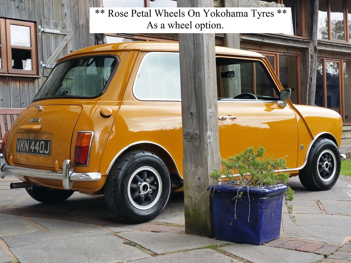 1970 Bronze Yellow MK 3 Cooper S In Lovely Condition. SOLD (picture 2 of 6)