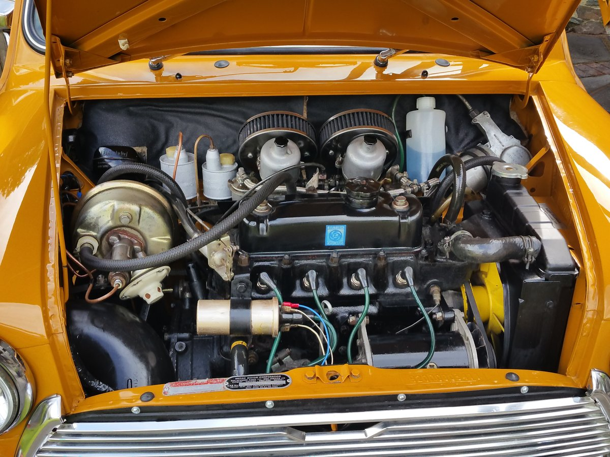 1970 Bronze Yellow MK 3 Cooper S In Lovely Condition. SOLD (picture 4 of 6)