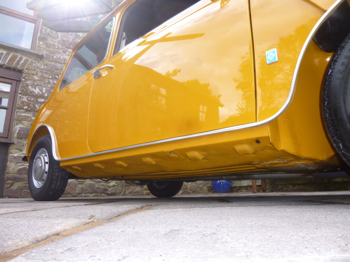 1970 Bronze Yellow MK 3 Cooper S In Lovely Condition. SOLD (picture 5 of 6)