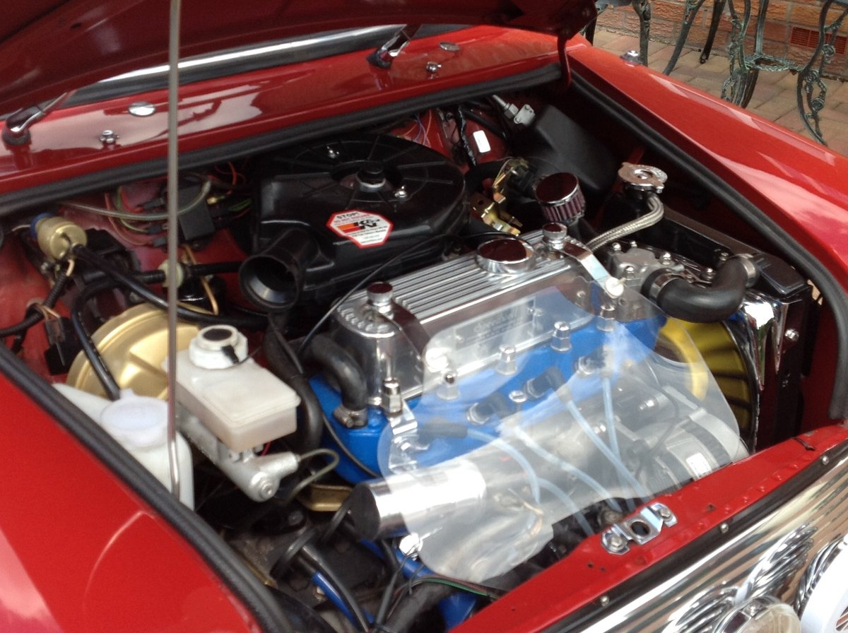 1987 1275 Cooper engined Mini.wood and picket special. SOLD (picture 5 of 6)