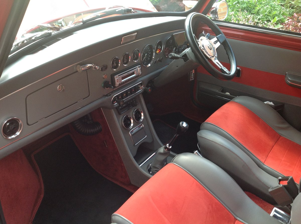 1987 1275 Cooper engined Mini.wood and picket special. SOLD (picture 6 of 6)