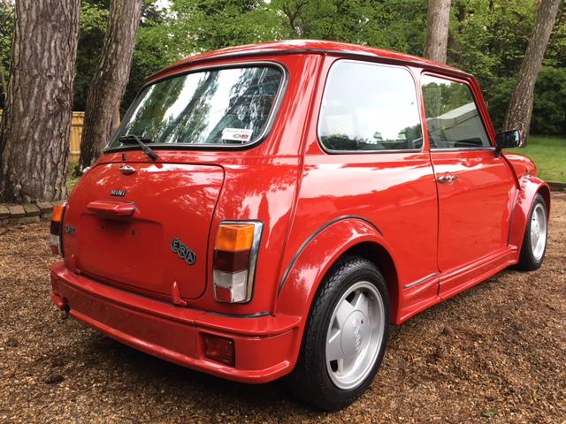 1992 Mini ERA Turbo ULTRA Low Mileage For Sale (picture 2 of 6)