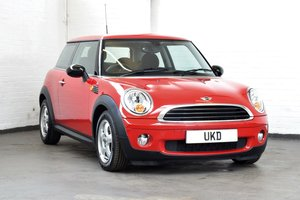 MINI ONE 1.4 AUTO RED 2007 8500 MILES FROM NEW! For Sale