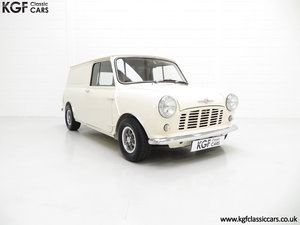 1969 A Delightful BMC Morris Mini Van Professionally Restored For Sale