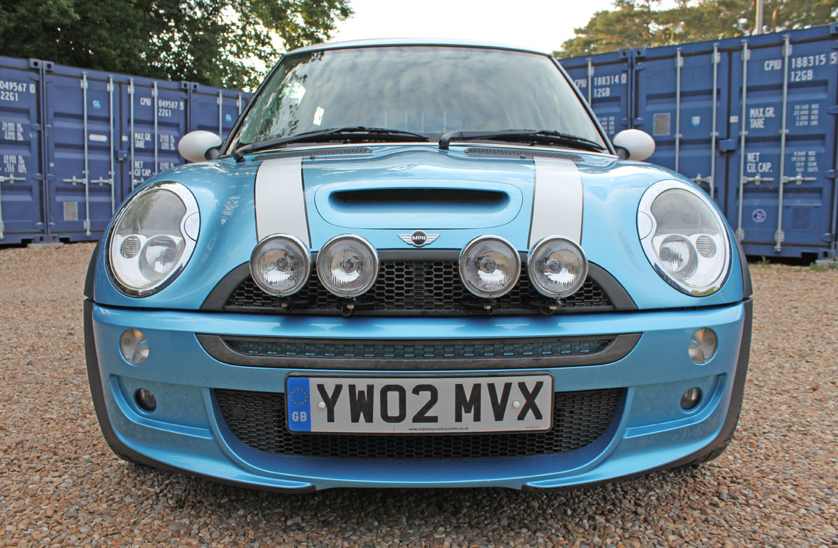Mini Cooper S 2002 (early example, fsh, full spec) For Sale (picture 5 of 6)