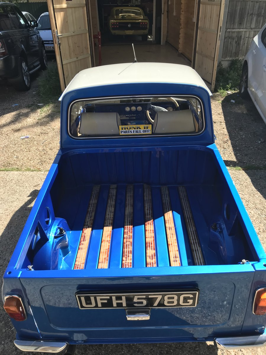 1969 Morris Mini Pickup, 1310cc Super Charged. SOLD (picture 2 of 6)