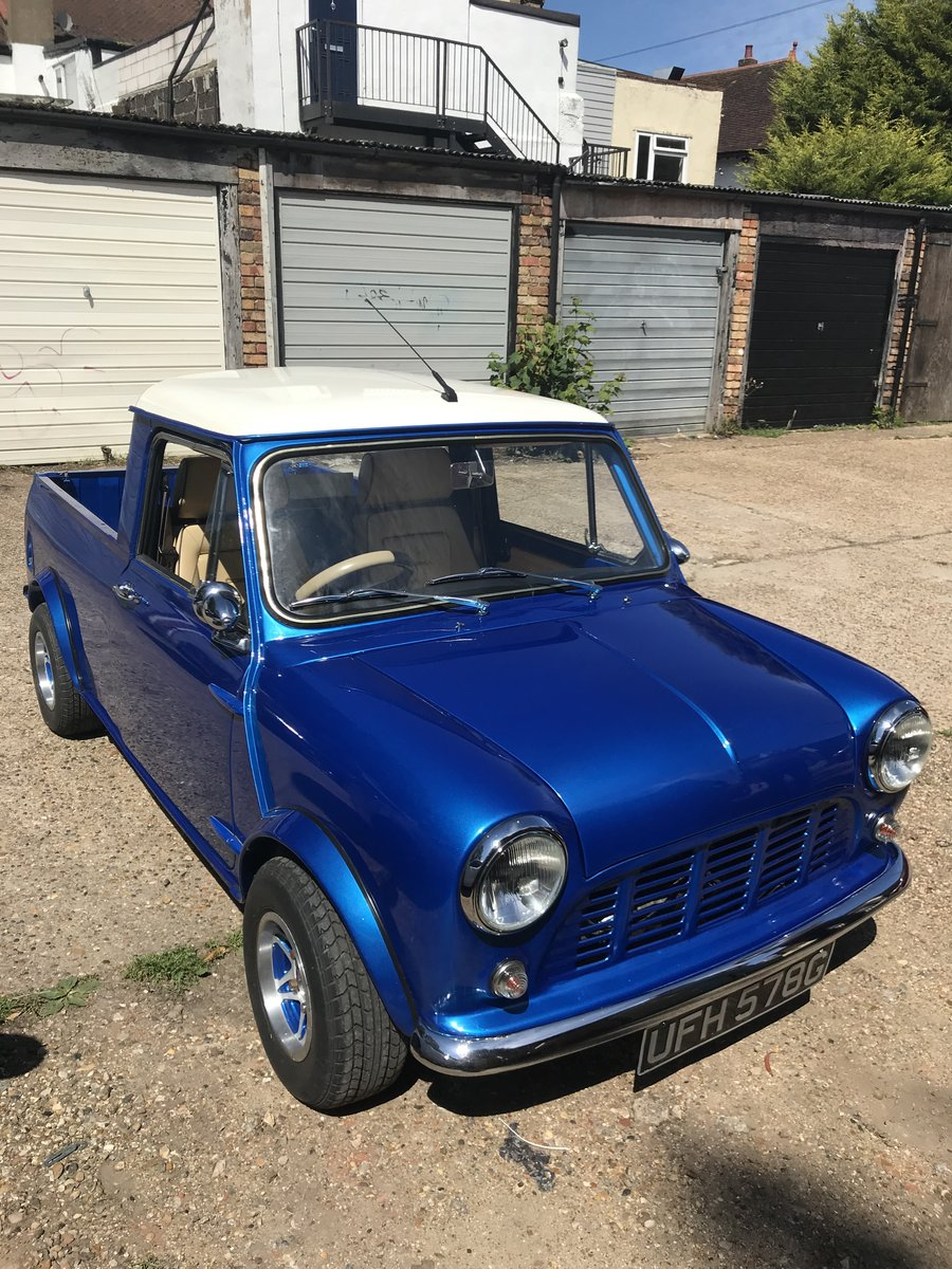1969 Morris Mini Pickup, 1310cc Super Charged. SOLD (picture 5 of 6)
