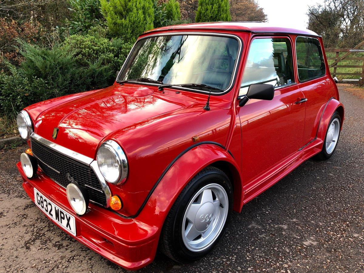 1990 Super Rare Mini ERA Turbo UK Delivered For Sale (picture 1 of 6)