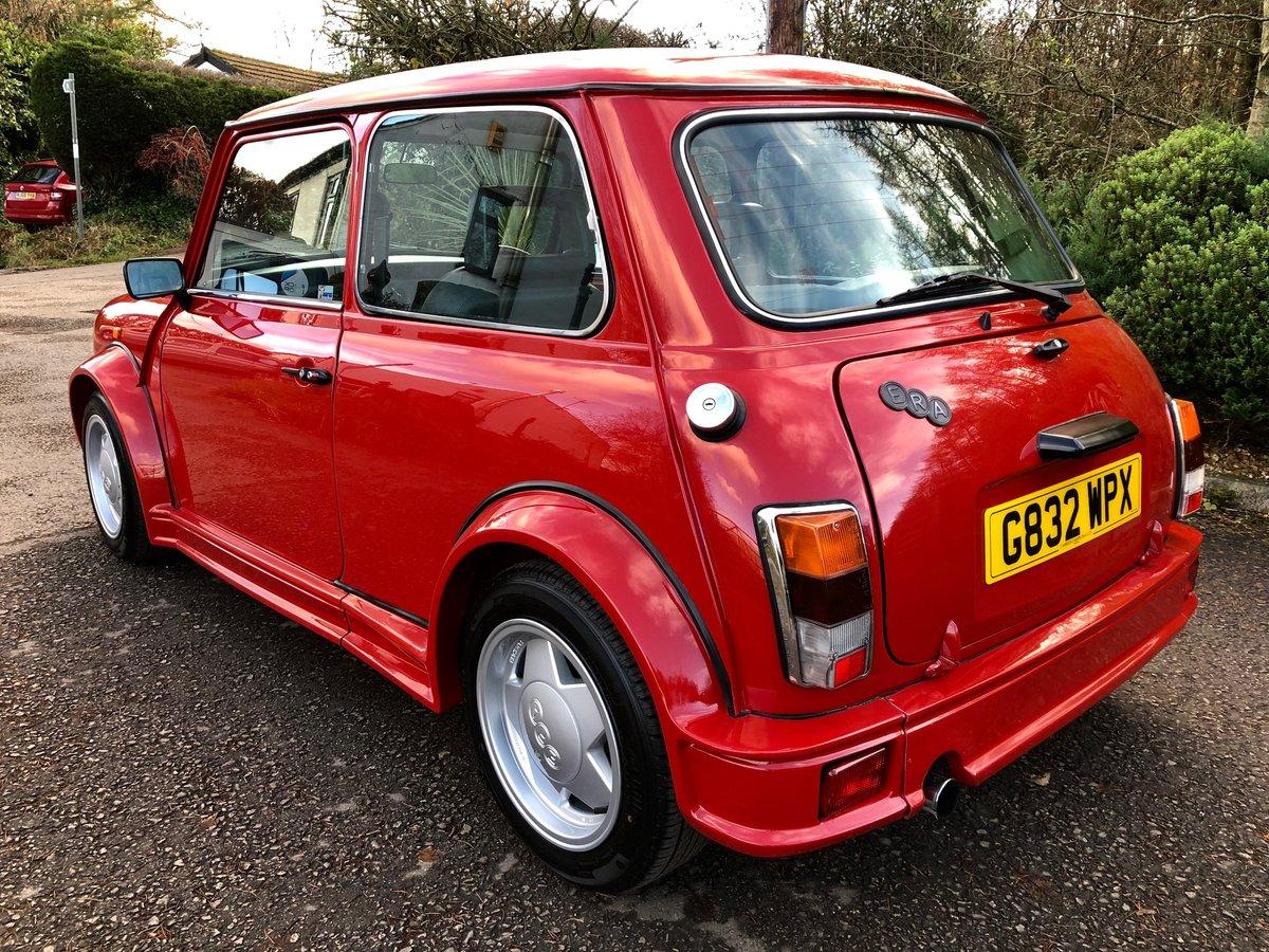 1990 Super Rare Mini ERA Turbo UK Delivered For Sale (picture 4 of 6)