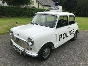 1968 MORRIS MINI COOPER S OKD 698F EX LIVERPOOL POLICE RARE! For Sale