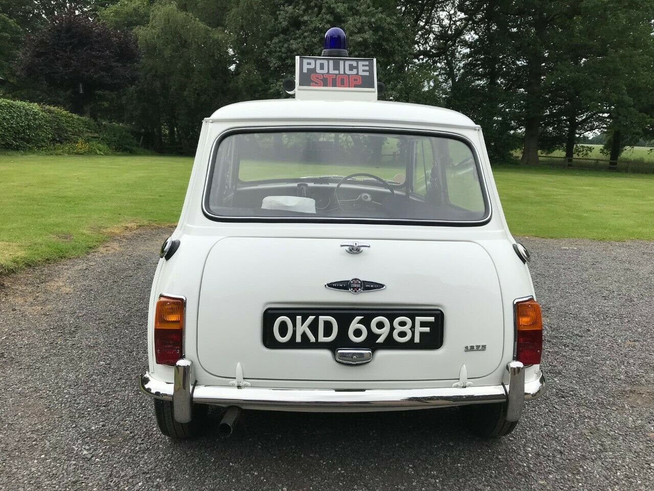 1968 MORRIS MINI COOPER S OKD 698F EX LIVERPOOL POLICE RARE! SOLD (picture 5 of 6)
