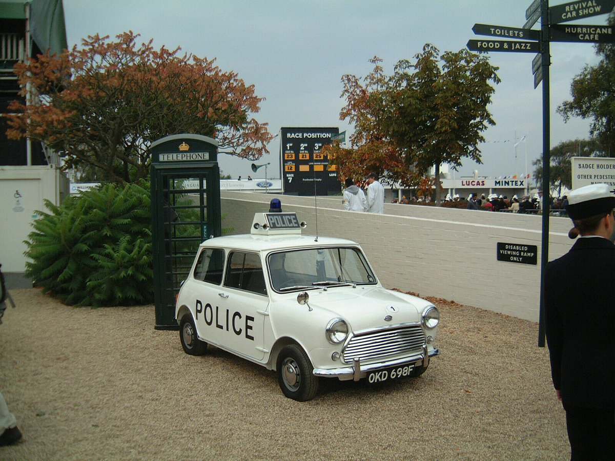 1968 MORRIS MINI COOPER S OKD 698F EX LIVERPOOL POLICE RARE! SOLD (picture 6 of 6)