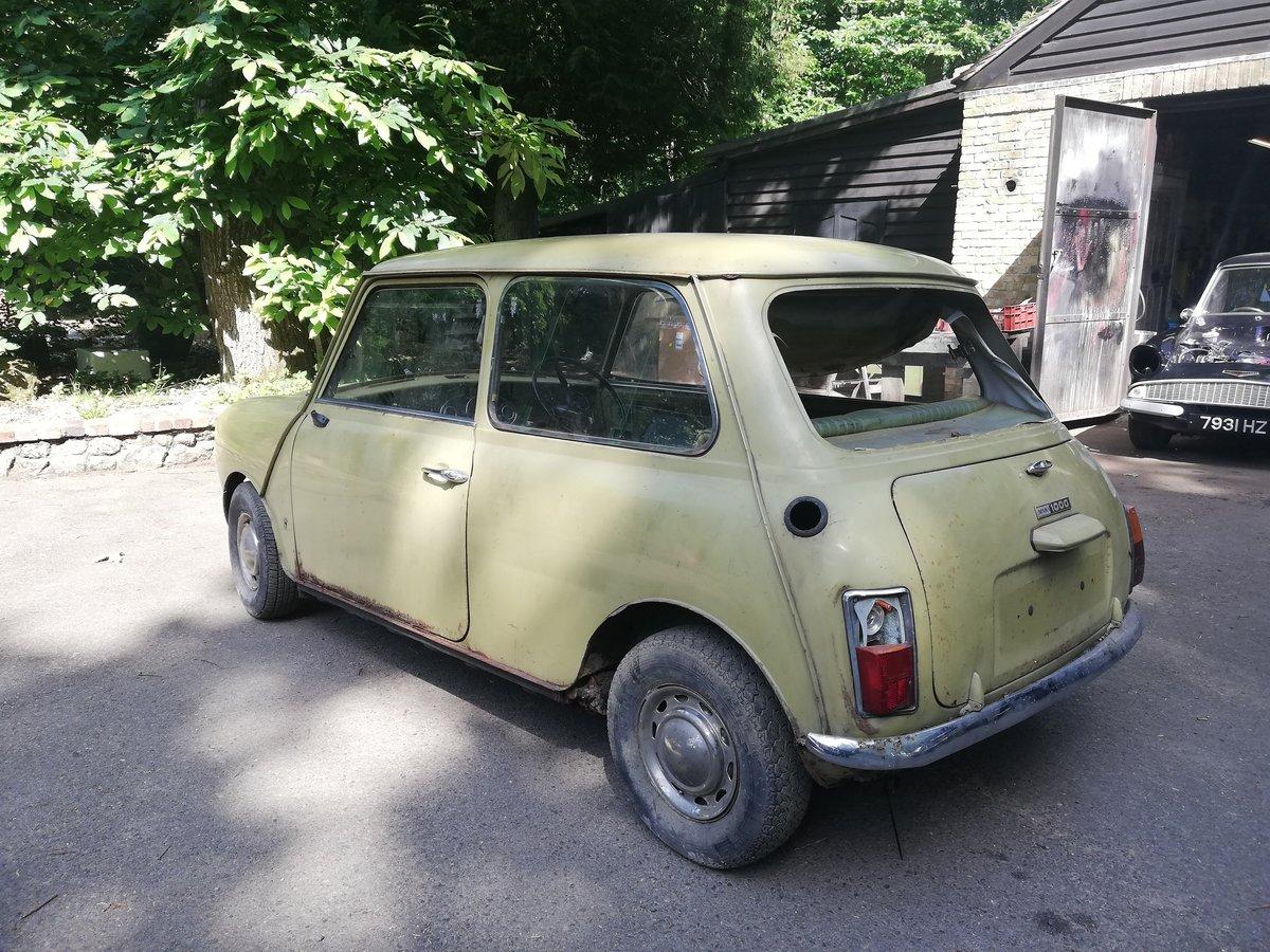 1972 Mini 1000 Mk3 SOLD (picture 2 of 6)