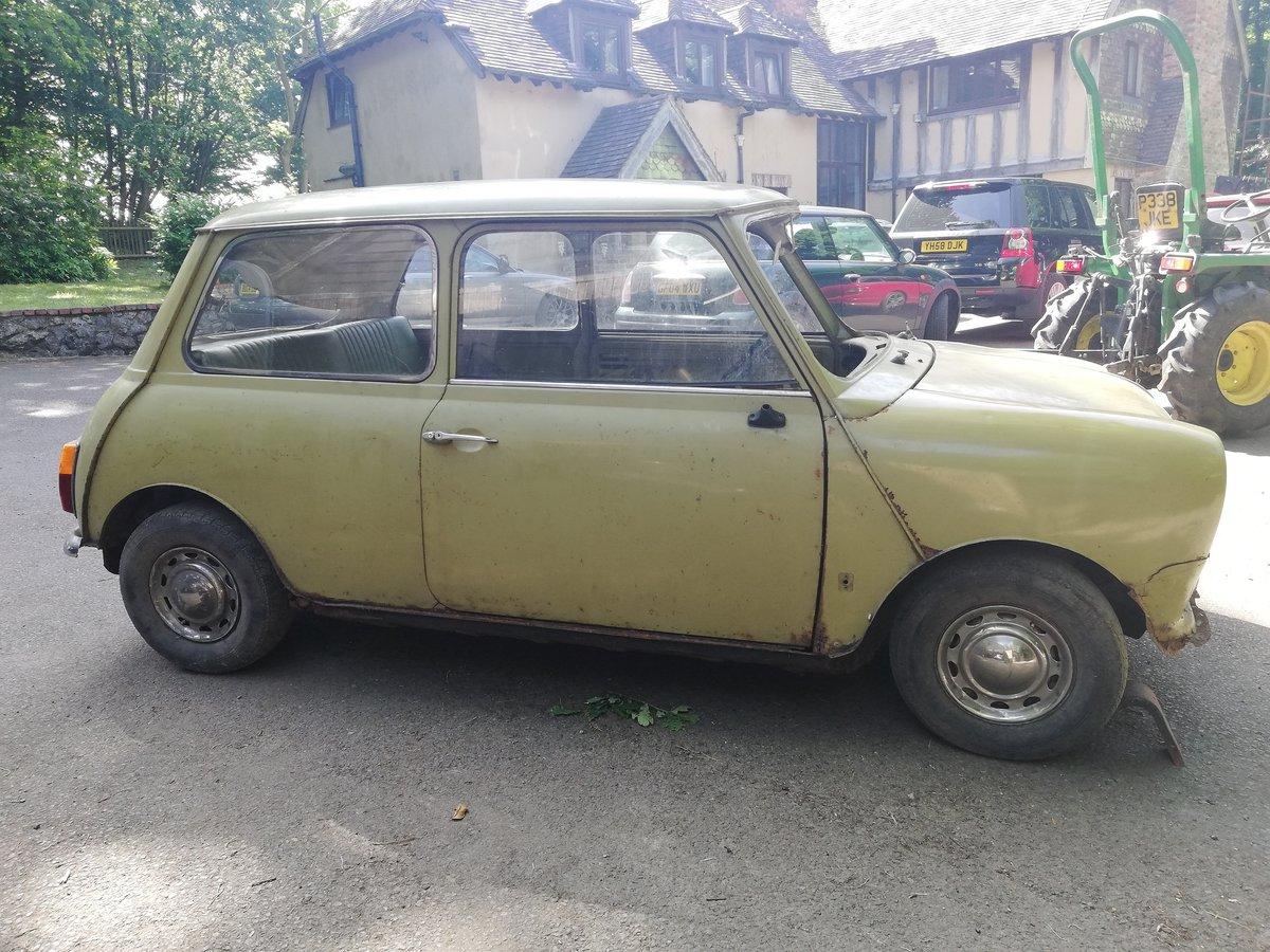 1972 Mini 1000 Mk3 SOLD (picture 3 of 6)