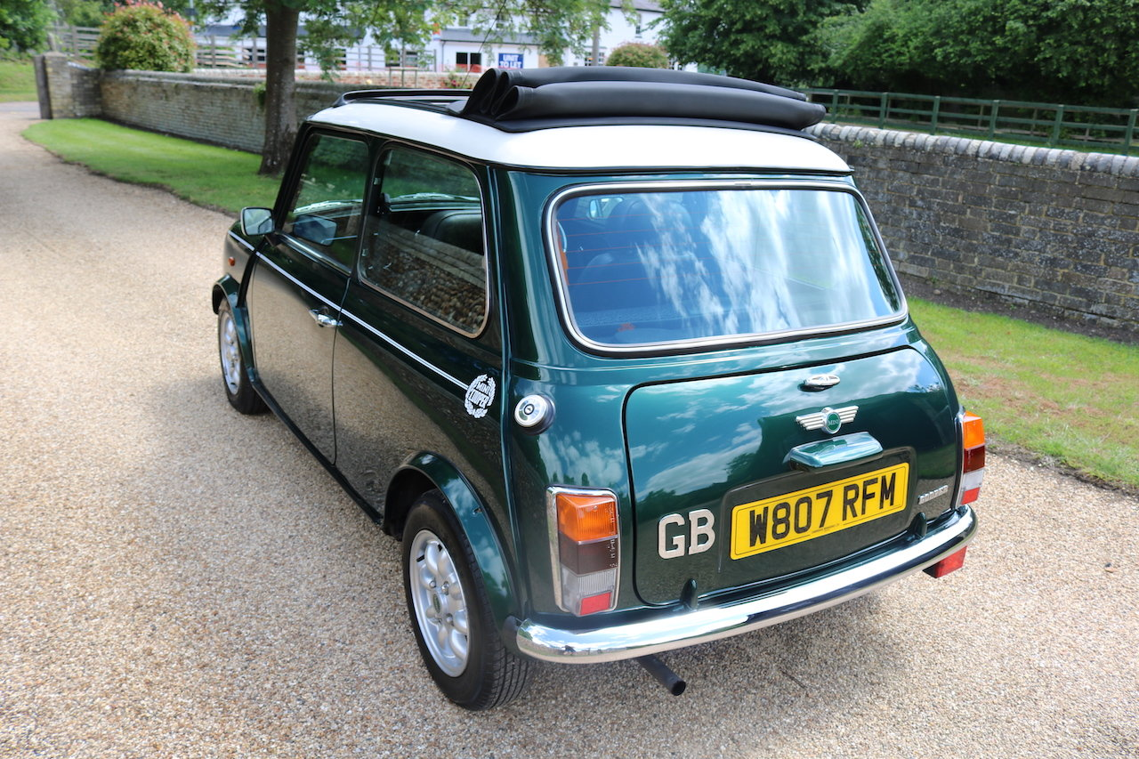2000 Cooper Classic Low Miles (Full Length Electric Sun Roof)  For Sale (picture 3 of 6)