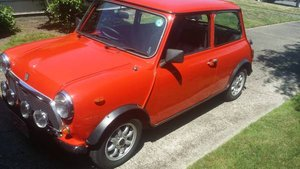 1982 Mini Rover Cooper 1000 = RHD clean Red low 40km $13.9k For Sale
