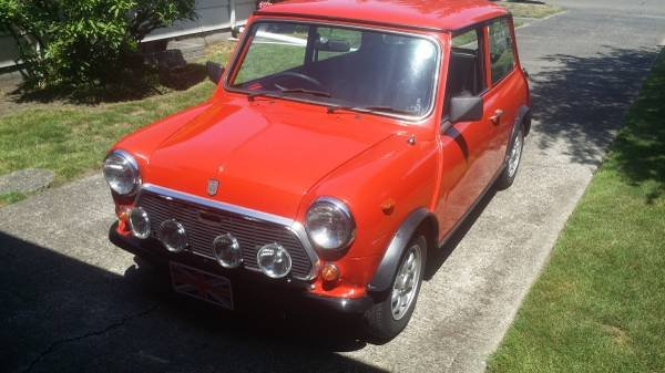 1982 Mini Rover Cooper 1000 = RHD clean Red low 40km $13.9k For Sale (picture 2 of 6)