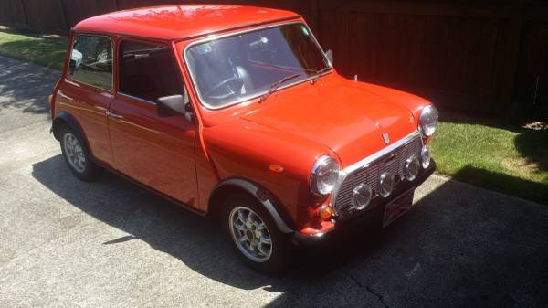 1982 Mini Rover Cooper 1000 = RHD clean Red low 40km $13.9k For Sale (picture 3 of 6)
