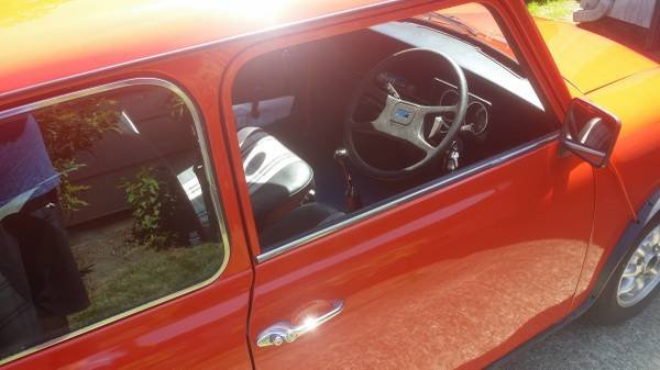 1982 Mini Rover Cooper 1000 = RHD clean Red low 40km $13.9k For Sale (picture 5 of 6)
