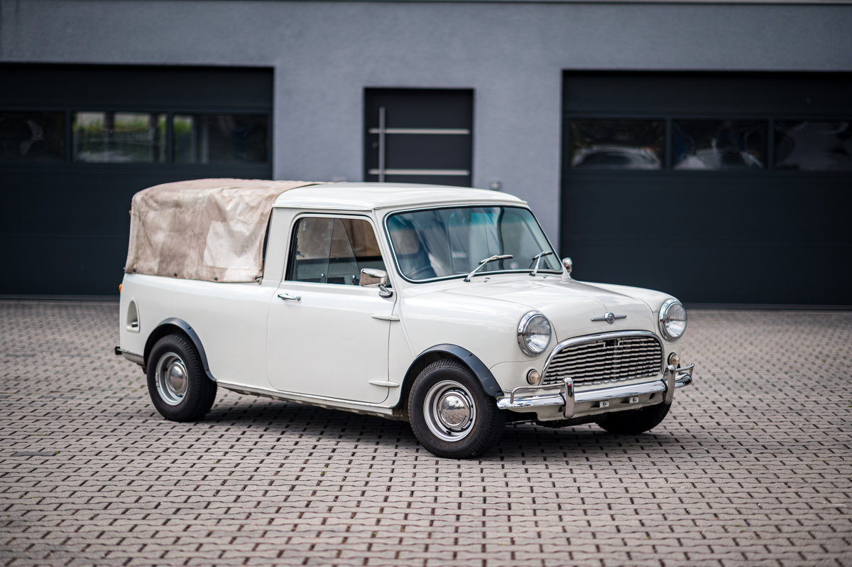 1980 Mini Pick-up supercharged For Sale (picture 1 of 6)