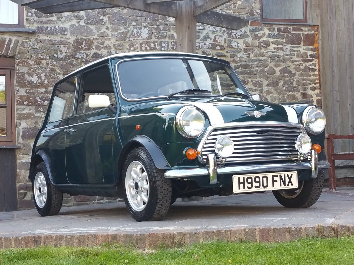 1991 Mini Cooper On Just 23600 Miles in 28 Years SOLD (picture 1 of 6)