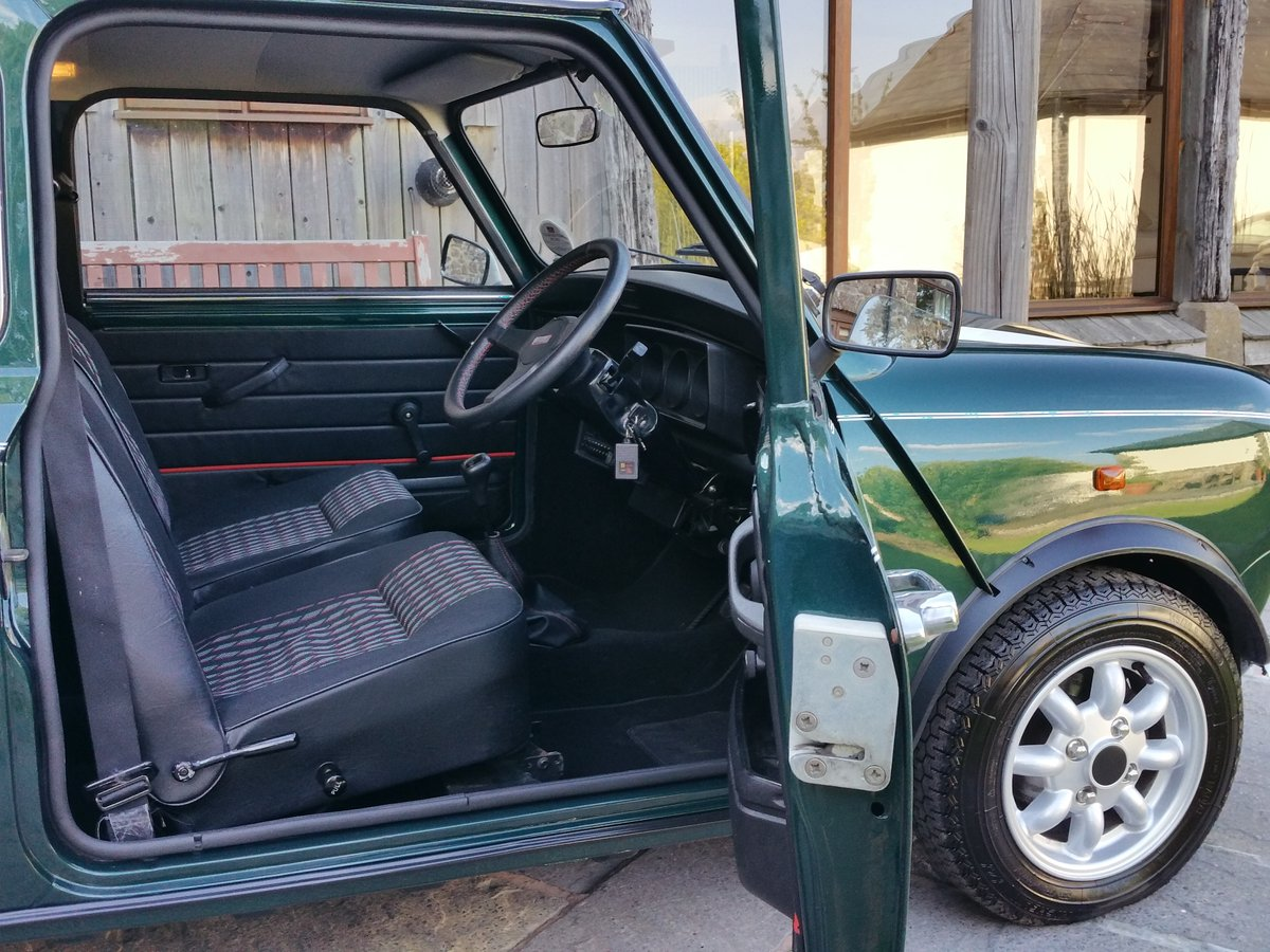 1991 Mini Cooper On Just 23600 Miles in 28 Years SOLD (picture 4 of 6)