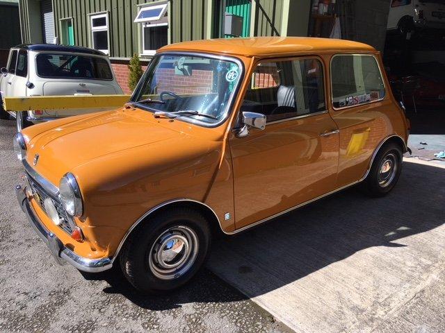Genuine and rare 1971 Mini Cooper S mk3 for sale For Sale (picture 1 of 6)