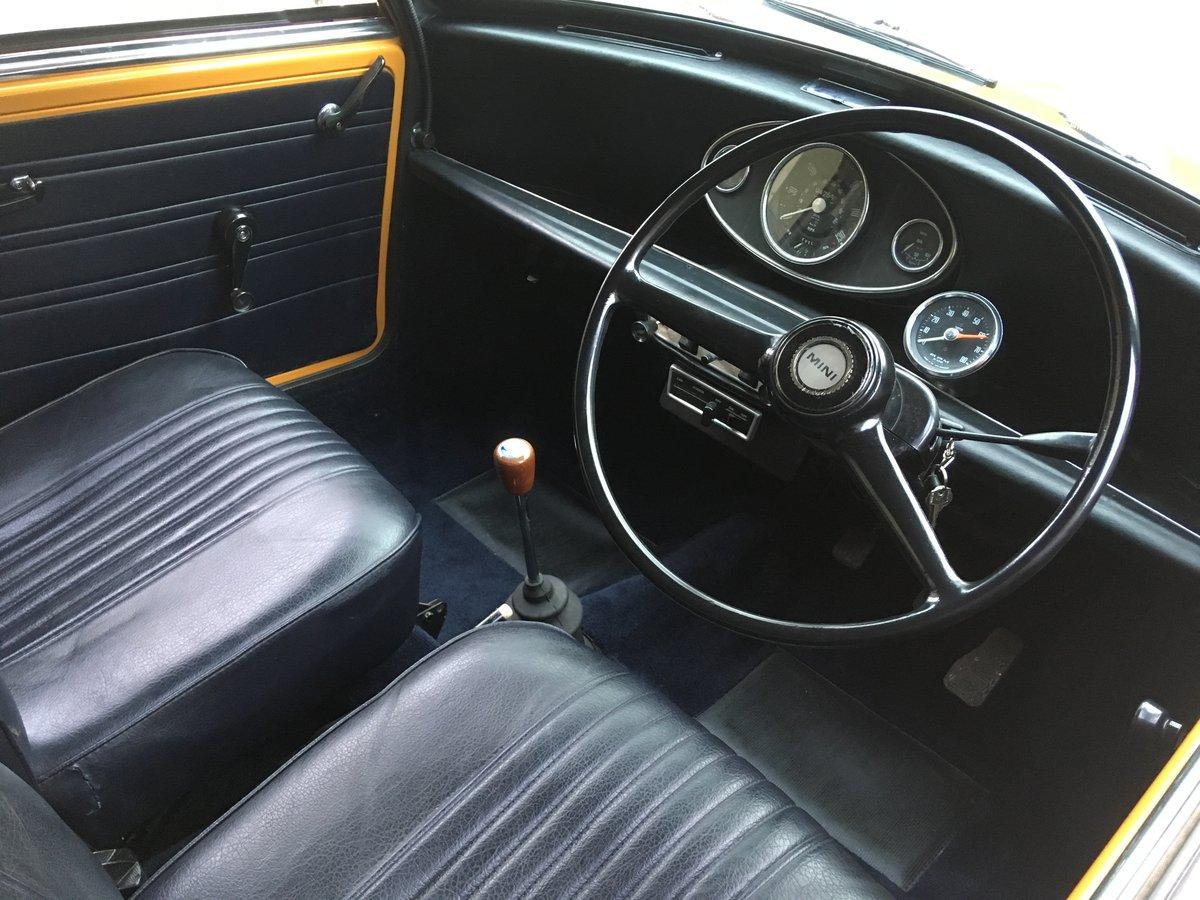 Genuine and rare 1971 Mini Cooper S mk3 for sale For Sale (picture 6 of 6)