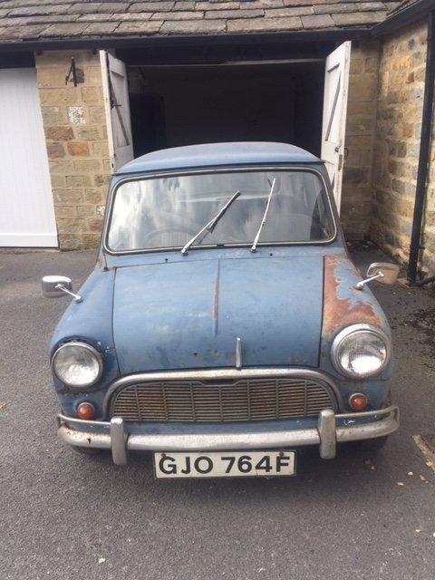 1967 mini MK1 Genuine Barn Find Classic  For Sale (picture 1 of 6)