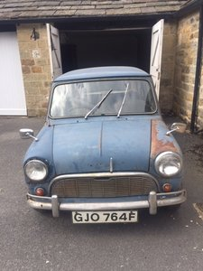 1967 mini MK1 Genuine Barn Find Classic
