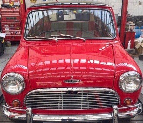 1967 mini MK1 Genuine Barn Find Classic  For Sale (picture 5 of 6)