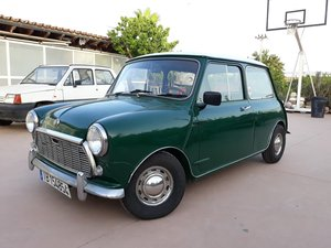 1979 LHD-Authi Mini 1000 Automatic year 1970