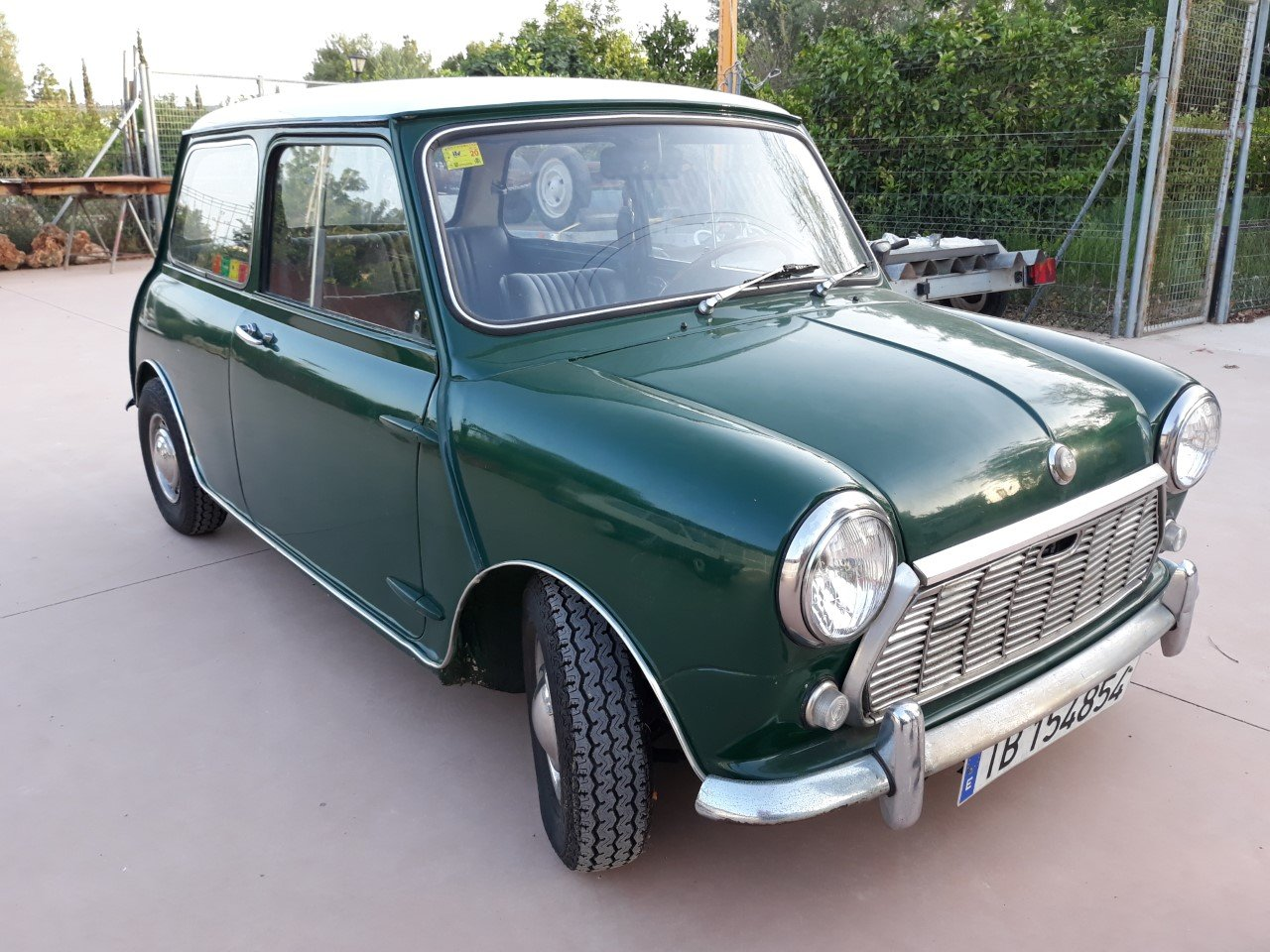 1979 LHD-Authi Mini 1000 Automatic year 1970  For Sale (picture 2 of 6)
