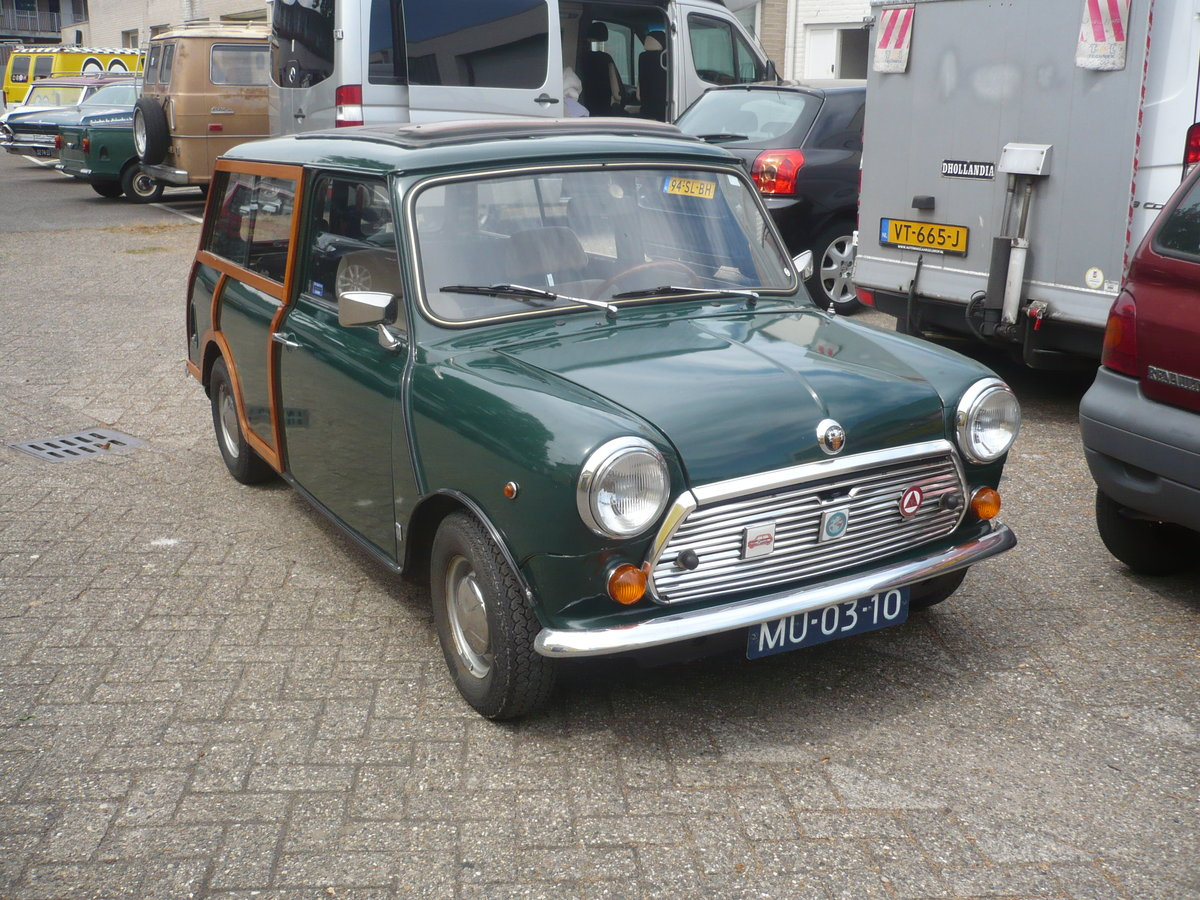 1963 MINI WOODY ESTATE SOLD (picture 1 of 6)