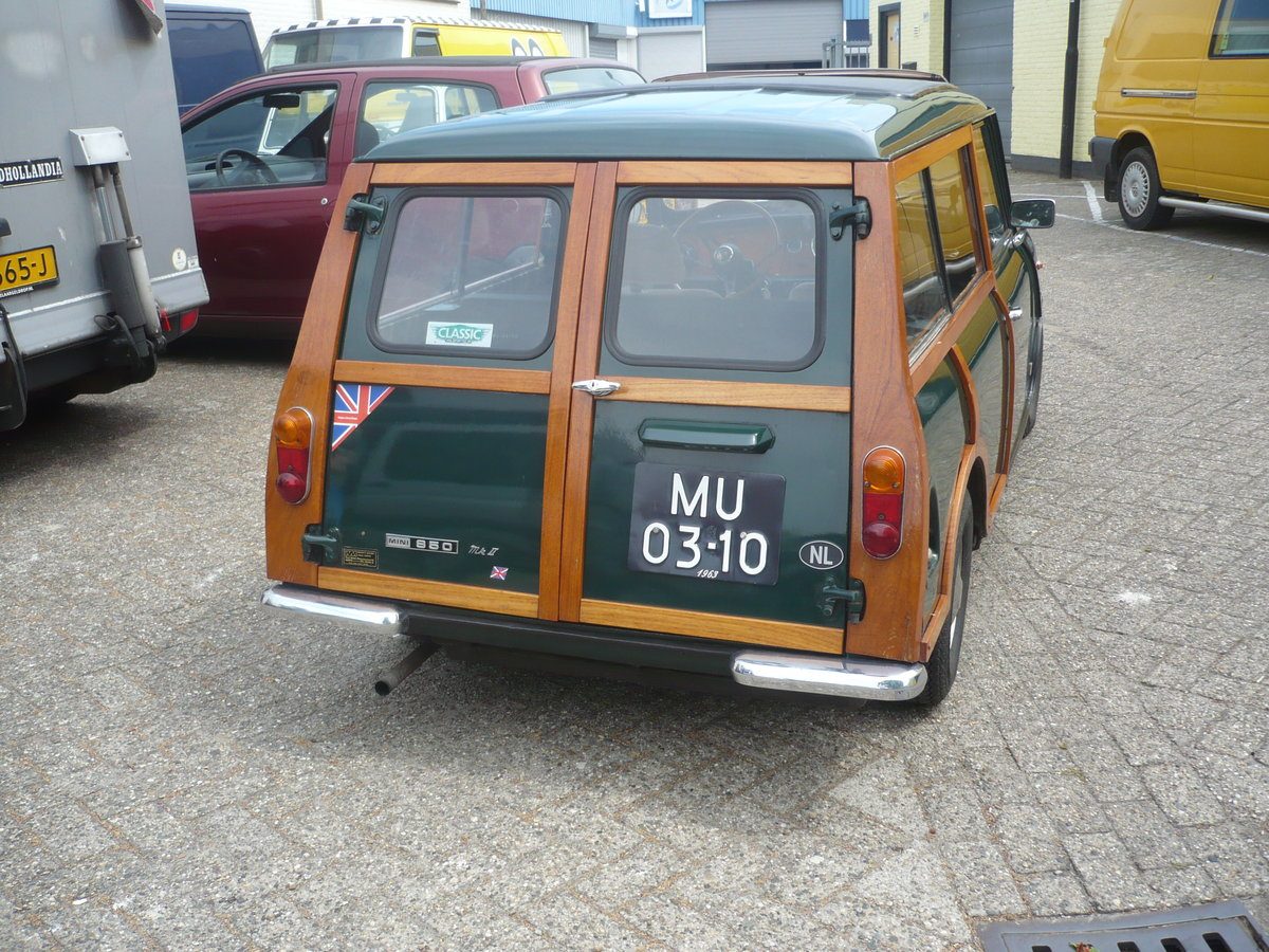 1963 MINI WOODY ESTATE SOLD (picture 3 of 6)