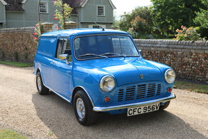 1980 Austin Mini Van (Restored Condition)  SOLD
