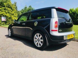 2007 57 MINI CooperClubman Automatic in Black Panoramic roof For Sale (picture 3 of 6)