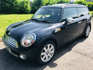 2007 57 MINI CooperClubman Automatic in Black Panoramic roof For Sale (picture 6 of 6)