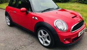 2012 MINI Cooper S in Chili Red with Chili Pack  For Sale