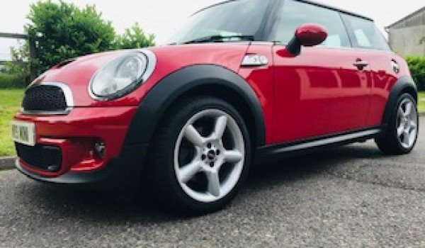 2012 MINI Cooper S in Chili Red with Chili Pack  For Sale (picture 4 of 6)