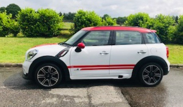 2013/63 MINI COUNTRYMAN JOHN COOPER WORKS – A Family Car  For Sale (picture 1 of 6)