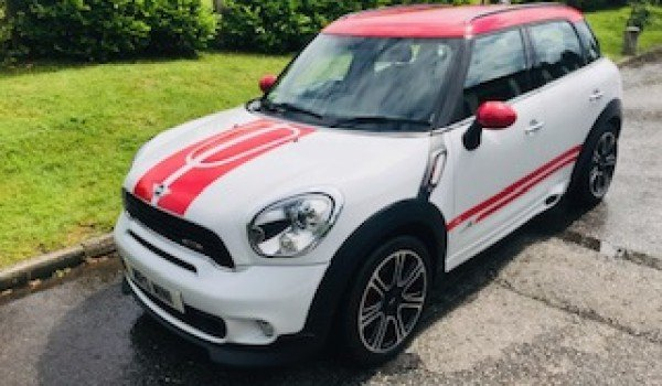 2013/63 MINI COUNTRYMAN JOHN COOPER WORKS – A Family Car  For Sale (picture 2 of 6)