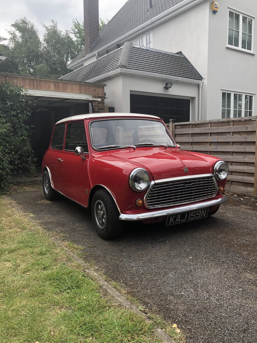 1975 Mini Cooper 1300 Authi SOLD (picture 1 of 6)