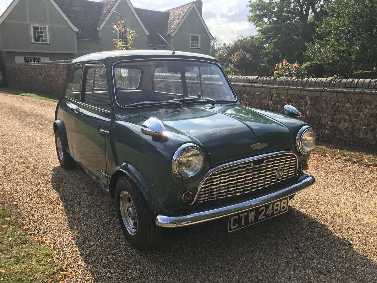 1964 Austin Mini Cooper Mk1 (Early Car)  For Sale (picture 1 of 6)