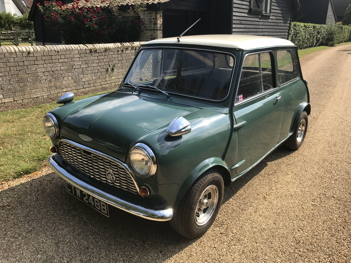 1964 Austin Mini Cooper Mk1 (Early Car)  For Sale (picture 2 of 6)