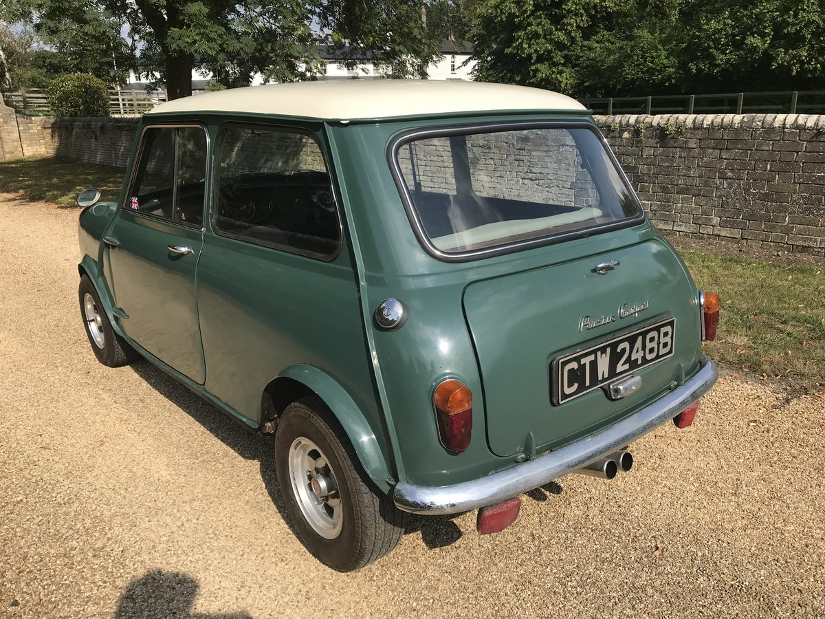 1964 Austin Mini Cooper Mk1 (Early Car)  For Sale (picture 3 of 6)