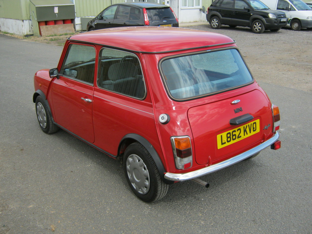 1993 MINI MAYFAIR AUTOMATIC. 1275 cc. BRIGHT RED STUNNER  For Sale (picture 3 of 6)