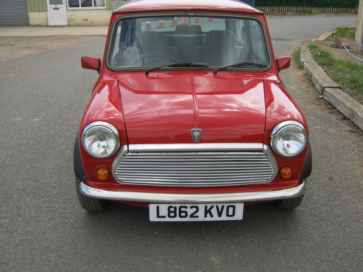 1993 MINI MAYFAIR AUTOMATIC. 1275 cc. BRIGHT RED STUNNER  For Sale (picture 2 of 6)